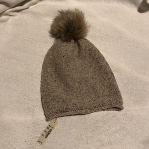 Madewell winter pom hat